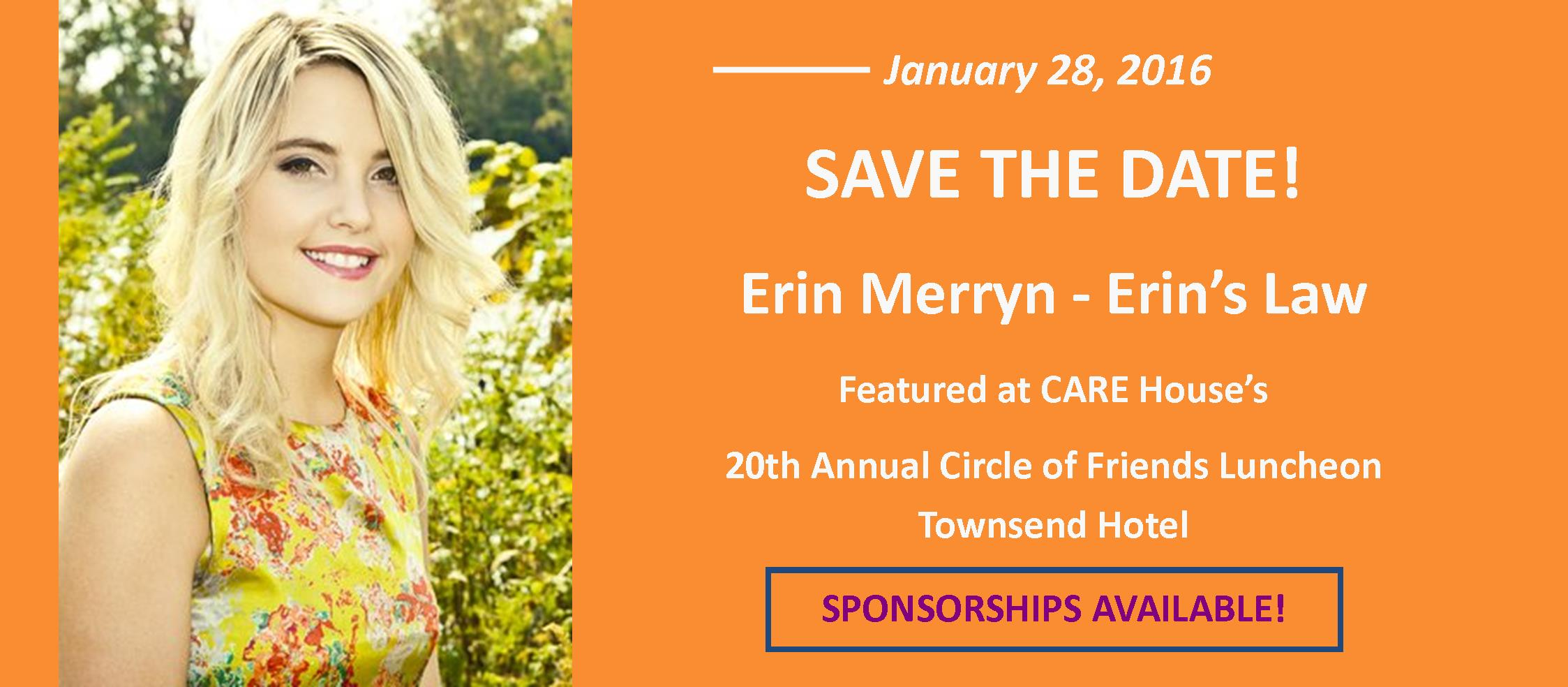 Erin Merryn Save the Date